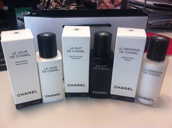 Beauty Airlines Chanel le jour nuit