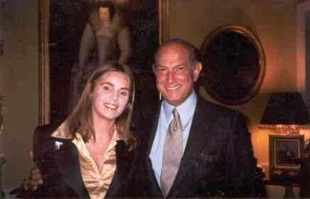 Susana Chaves and Oscar de La Renta