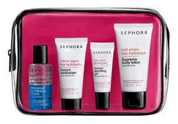 O Kit Exclusivo Sephora / Beauty Airlines